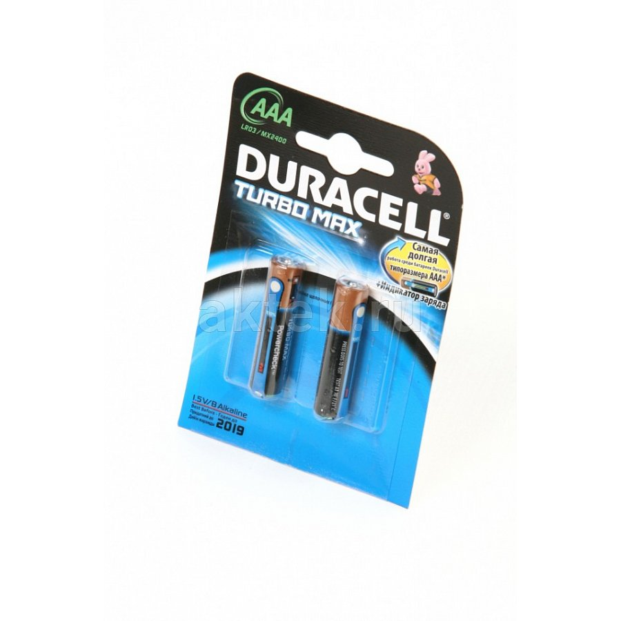 DURACELL TURBO MAX LR03 1шт.