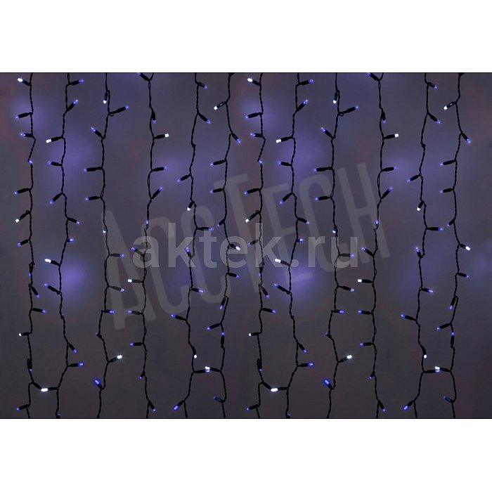 Светодиодная LED гирлянда NEON-NIGHT Original 220В 2*1,5 м белый