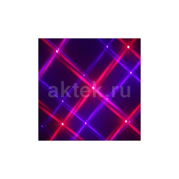 Цветомузыка Sky Disco Purple Stars