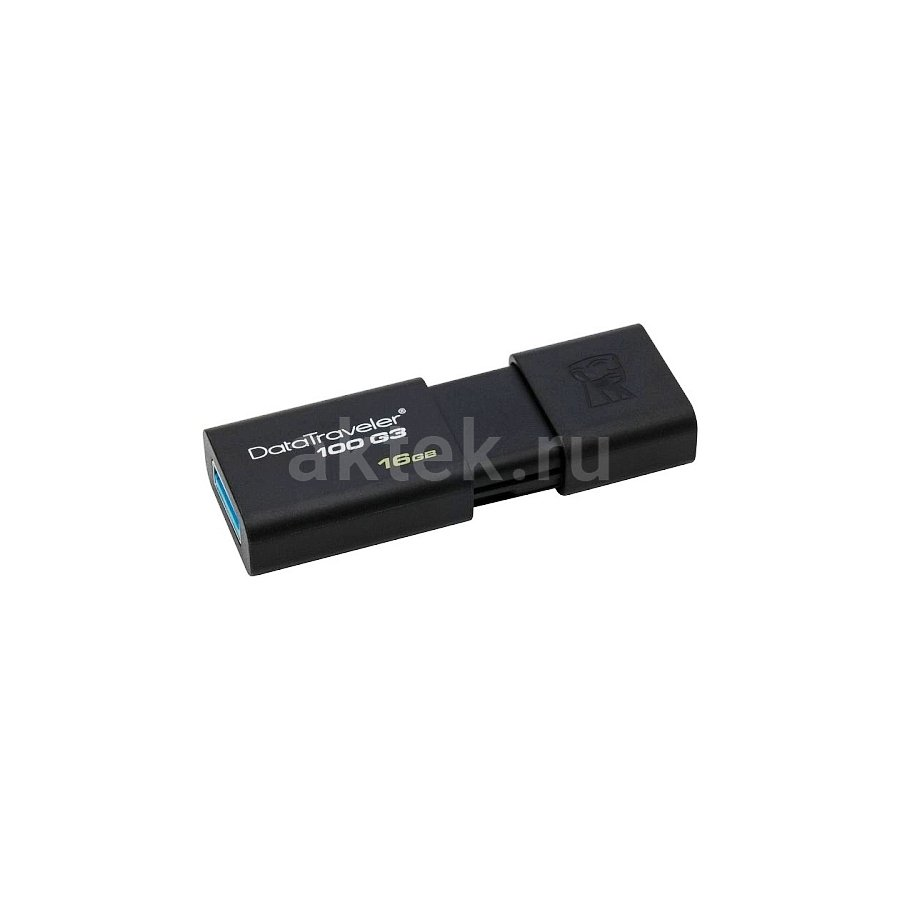 USB флешка 16 Gb Kingston Data Traveler 100G3